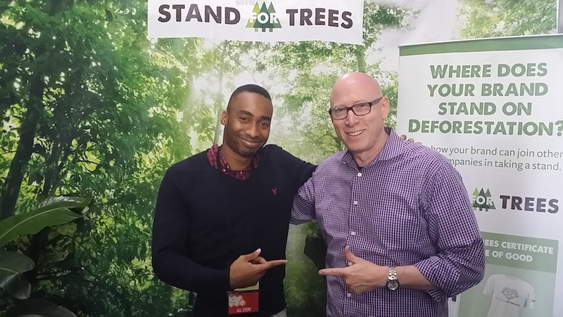The Sponsorship Guy, With Prince EA at Sustainable Brands Conference
