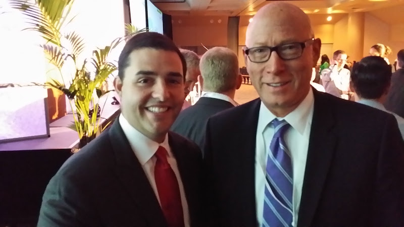 The Sponsorship Guy, Larry with Jed York, CEO San Francisco 49ers