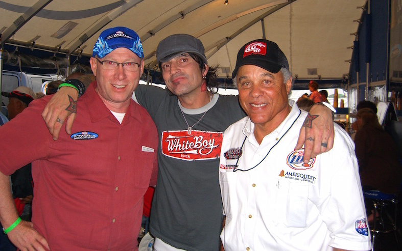 The Sponsorship Guy, Larry, Tommy Lee, Don Prudhomme at NHRA