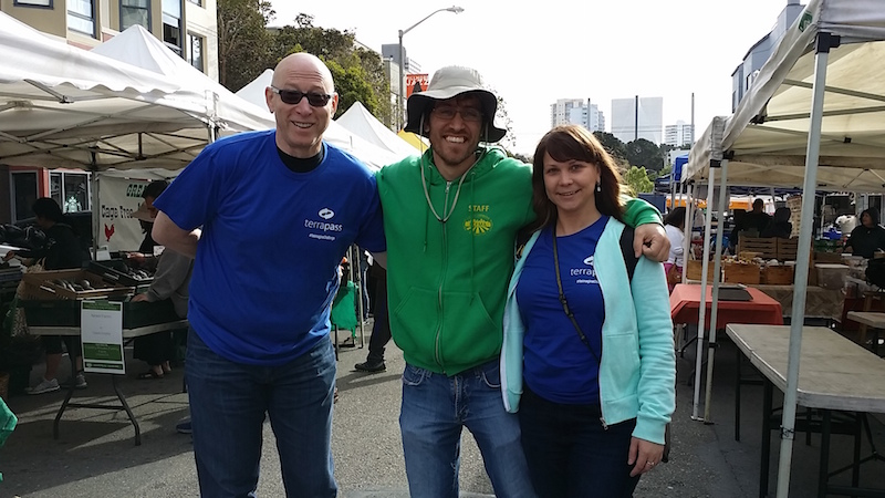 The Sponsorship Guy, Green Energy Marketing at San Francisco Farmers Market