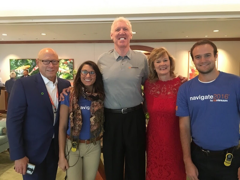The Sponsorship Guy, With Bill Walton at Client Conference