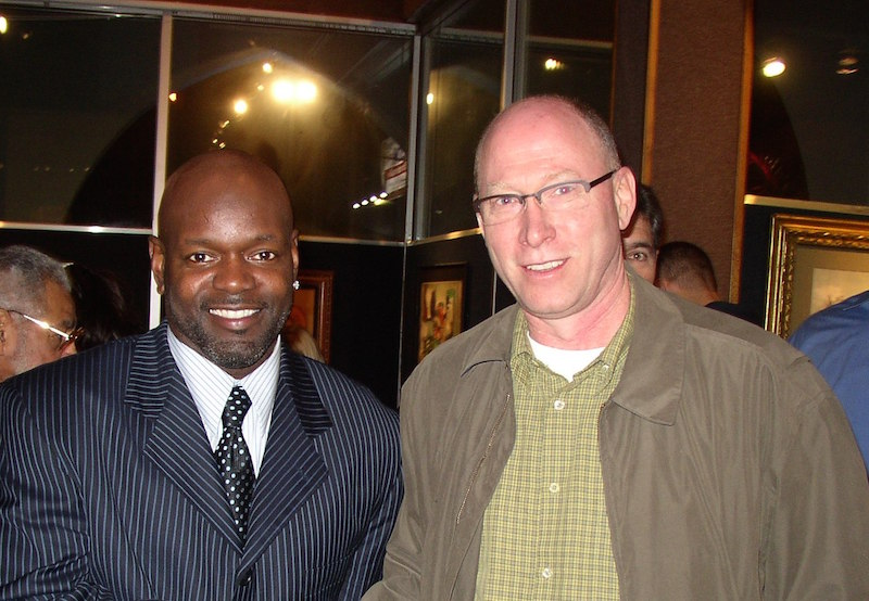 The Sponsorship Guy, Emmitt Smith at NFL players event