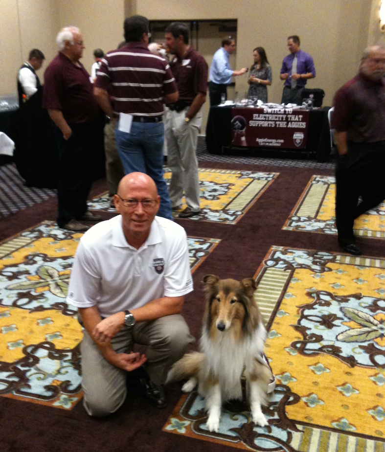 The Sponsorship Guy, Texas A&M Alumni Event with Reveille