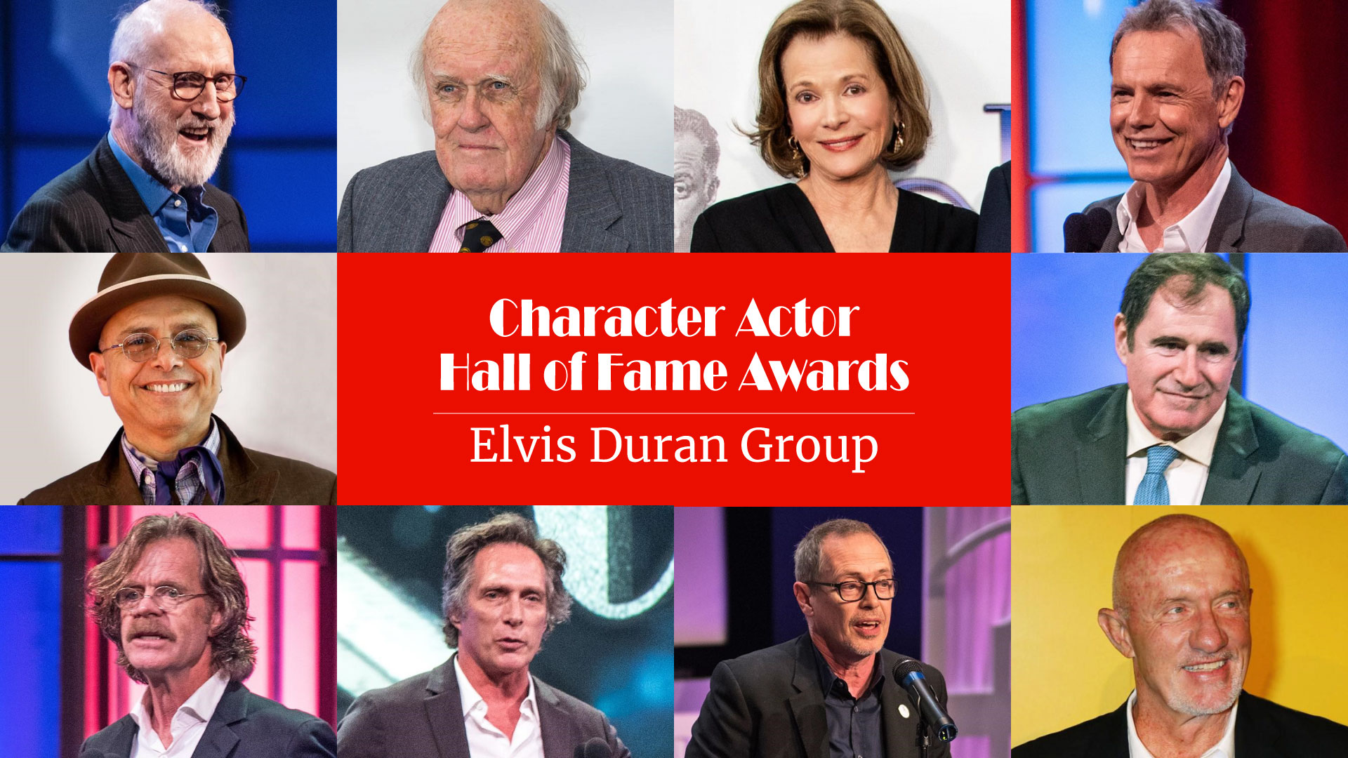 Character Actor Hall of Fame Awards - Elvis Duran Group