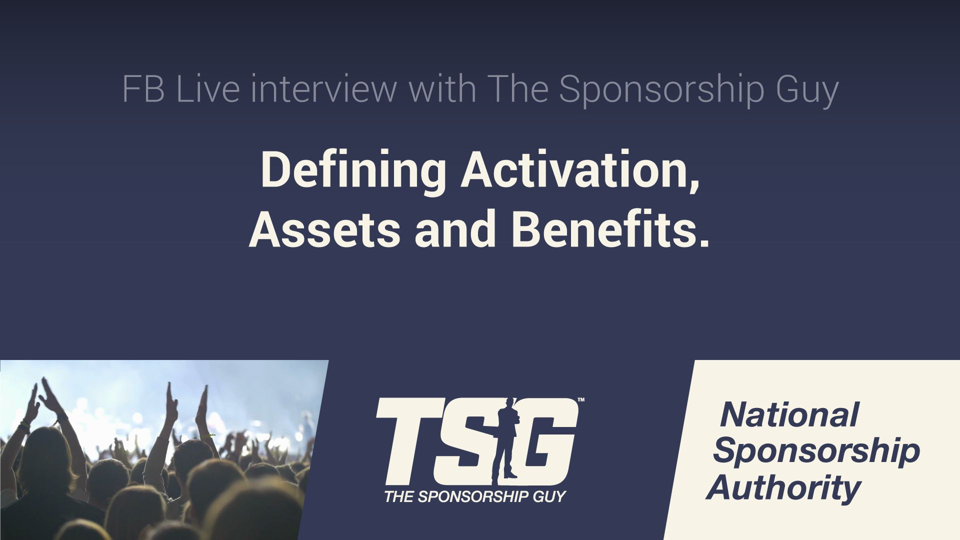 Sponsorship Terminology: Activation, Assets & Inventory