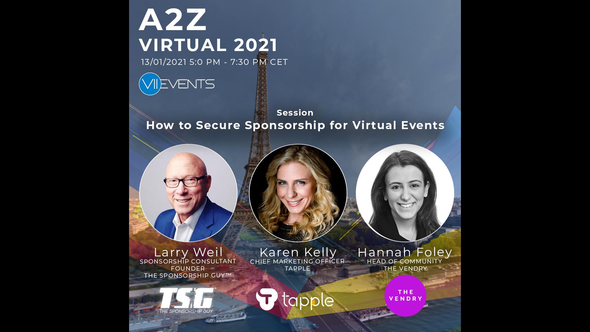 A2Z Virtual 2021 Event Profs Virtual Event